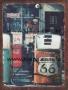 Placa Decorativa Bomba de Combustível Route 66