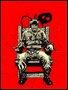 Placa Decorativa cadeira elétrica