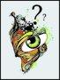 Placa Decorativa Olho