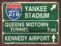 Placa Decorativa Interstate New York 278