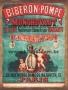 Placa Decorativa Publicidade Antiga Biberon-Pompe