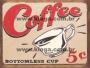 Placa Decorativa Coffee 5c