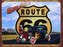 Placa Decorativa Route