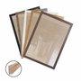 Moldura Personalizada Caixinha para Quadros e Fotos com Fundo Mdf e Frente em Acetato - 1,5x3