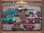 Placa Decorativa Vintage Chevy Trucks Since 1918