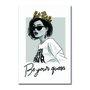 Placa Decorativa Be Your Queem - Seja Sua Rainha