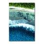 Placa Decorativa Coleção Mar Azul