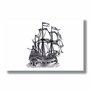 Placa Decorativa Coleção Mar Navio