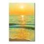 Placa Decorativa Coleção Mar Pôr Do Sol