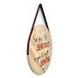 Placa Decorativa De Madeira Pinus Para Porta E Parede So Faz Sentido O Que Te Faz Sentir