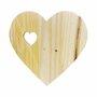 Placa Decorativa Descanso De Panela Coração