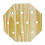 Placa Decorativa Descanso De Panela Octagono