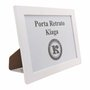 Porta Retrato Com Moldura E PVC Mais Fundo MDF Com Suporte - 2x1