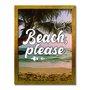 Quadro Decorativo  Coleção Mar Beach, Please