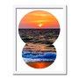 Quadro Decorativo  Coleção Mar Pôr Do Sol