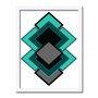 Quadro Decorativo Geométrico Diversas Formas