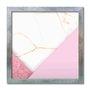 Quadro Decorativo Geométrico Tons Rosa