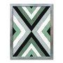 Quadro Decorativo Geométrico Triângulo Em Linha