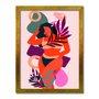 Quadro Decorativo Silhueta Mulher Bronzeada