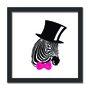 Quadro Decorativo Zebra Pop Art