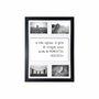Quadro Painel de Parede para 4 fotos 10x15cm - A Vida Informa: A Falta de Coragem...