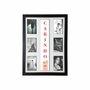 Quadro Painel de Parede para 6 fotos 10x15cm - Dedos Carinho