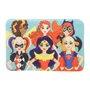 Tapete de Poliéster Fluffy Super Hero Girls - URBAN